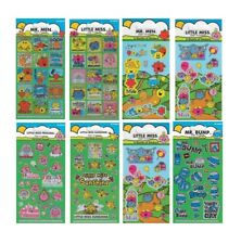 MR MEN & LITTLE MISS - Colouring Stickers Activity Books Kids Party Gift Xmas