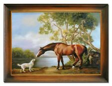 Ölbild Ölbilder Gemälde Bilder Bild Handgemalt Öl mit Rahmen Barock Kunst G16643