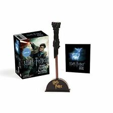 Harry Potter Wizard's Wand with Sticker Book: Lights Up! (Miniature Editions), P