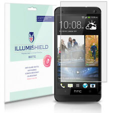 iLLumiShield Matte Screen Protector w Anti-Glare/Print 3x for HTC One M7