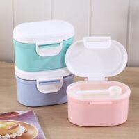 Baby Milk Powder Storage Box Infant Feeding Container Food Dispenser Sealer Case
