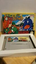 Super Mario World 2 - Yoshi's Island - (Super Nintendo, 1995) SNES GAME BOXED