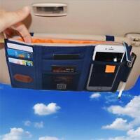 Auto Sonnenblende Organizer Wallet Card Pen Handytasche Aufbewahrungstasche