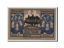 [#353389] Notgeld, Oberschlesien, Gleiwitz, 1 Mark (1922), Kono E 42985, Mehl