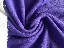 Purple Terrycloth Wholesale Fabric - 15 Yard Bolt - TCPE