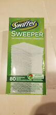 NEW SWIFFER SWEEPER DRY CLOTH REFILLS 80 COUNT BOX
