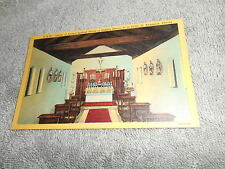 VINTAGE - POST CARD - SHRINE OF NUESTRA SENORA DE LA LECHE ST. AUGUSTINE, FLA