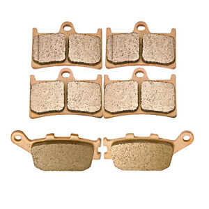 Double-H Sintered F+R Brake Pads For Yamaha YZF R1 (5VY) / YZF R1 2004 2005 2006