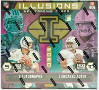 Panini 2020 Illusions Hobby Box Football Break RANDOM TEAM BREAK!!