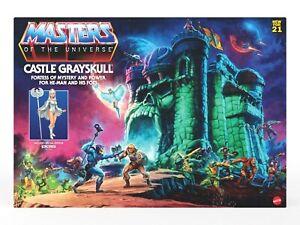 MASTERS OF THE UNIVERSE ORIGINS CASTLE GRAYSKULL & SORCERESS MIB PREORDER MOTU