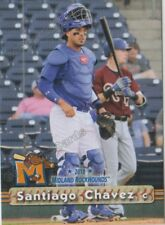 2018 Midland RockHounds Santiago Chavez RC Rookie Oakland Athletics