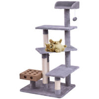 Pet Cat Tree Play House Tower Condo Bed Scratch Post Kitten Pet House Tower New