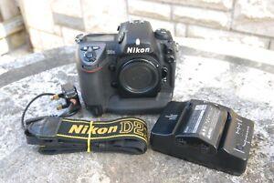 Nikon D2H DSLR (working, but read)