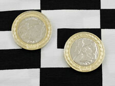 Set of new Isle of Man TT £2 coins commemorating Steve Hislop 120mph lap record