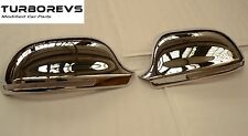CHROME WING DOOR MIRROR COVERS CAPS FOR AUDI A3 S3 A4 A5 A6 - DL79