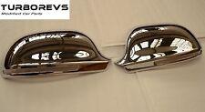 Chrome wing door mirror covers caps pour audi A3 S3 A4 A5 A6-DL79