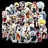 100PCS/SET Anime Naruto PVC Stickers for Luggage Laptop Skateboard DIY Decal