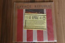 """Savage Republic-Recordings From Live Performance (1992) (2x10"""") (IP 038,IP 039)"""