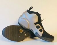 2009 Nike Air Flightposite II LE OG Sample SZ 9.5 Metallic Zinc Black 386160-001