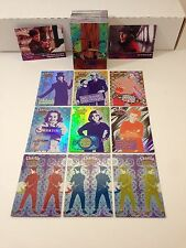 CHARLIE & THE CHOCOLATE FACTORY Johnny Depp Card Set + 9 RETAIL Foil Cards M1-M9