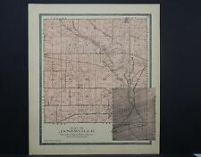 Wisconsin, Rock County Map, 1904 Township of Janesville L22#69