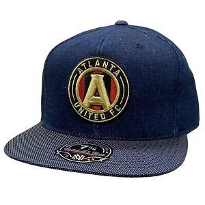 Atlanta United FC - Denim Mitchell & Ness MLS Fitted Hat Cap (7 3/8)...NWT!