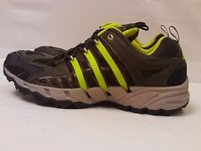 Adidas Clima Cool Mesh Dark Green Neon Running Sneakers Speed Grip System Sz 12