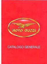 Moto Guzzi Catalogo Generale Italian range brochure