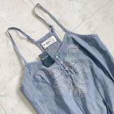NEW Abercrombie Adjustable Denim Tank Tunic/Dress