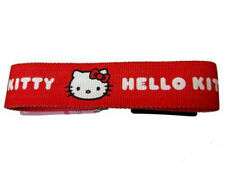 OFFICIAL RETRO HELLO KITTY RED CANVAS BELT CHILDRENS