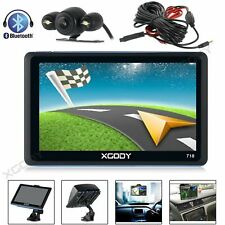 XGODY 7 inch GPS Navigation Car Sat nav Bluetooth FM USB + Wired Parking Camera