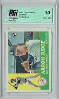 Aaron Judge 2017 Topps Archives #62 1960 Style Rookie Card PGI 10