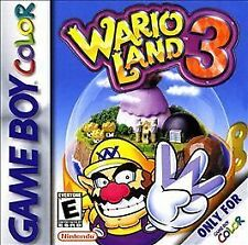 Wario Land 3 Cartridge(Nintendo Game Boy Color, 2000) Super Mario