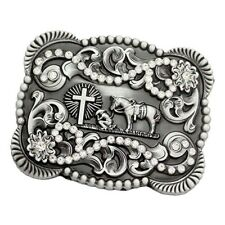 American Knights Pattern Belt Buckle Indian Hip Hop Western Cowboy Native