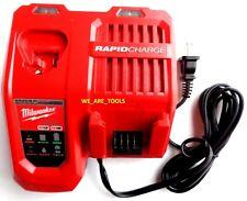 New Milwaukee 48-59-1808 Rapid Charger M12 & M18 18 Volt Li-Ion 12 Volt, 18 Volt