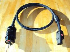 High-End Power Cord Netzkabel  1,2 m Lapp Typ Ölflex 110 CY 3x 2,5m²
