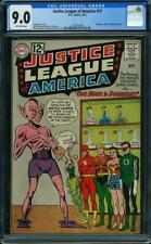 JUSTICE LEAGUE OF AMERICA #11 CGC 9.0  ABNEGEZAR, RATH & GATH APP #1273675005