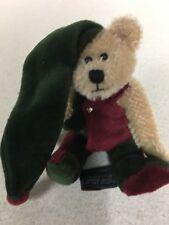 """Boyds Bears Elfwood Bearington Mohair 5"""" Bear 1999 MINT"""