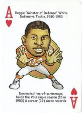 REGGIE WHITE Herodecks card Tennessee Vols Volunteers Eagles Packers Football NM