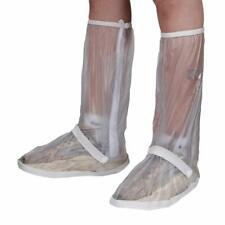KRATARC Waterproof Shoes Covers Foldable Rain Boot Reflective X-Large White