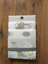 💕Disney Baby Girls Boys Dumbo Muslin Adorable Newborn  💕