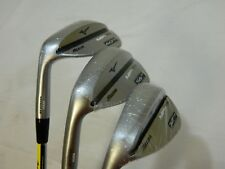 New LH Mizuno MP-T5 White Satin 52* 56* 60* Wedge Set 52.09 56.10 60.06 LB