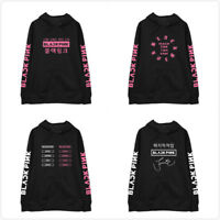 Kpop Blackpink Hoodie Unisex Pullover Jisoo Jennie Rose Lisa Sweater Pullover