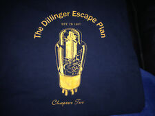 DILLINGER ESCAPE PLAN shirt CHAPTER TWO EST. 1997 original SIZE XL Gildan