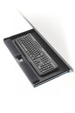 Supporto porta tastiera estraibile ergonomico salvaspazio con poggia polsi gel