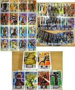 Star Wars Force Attax Serie 2 Komplettset aussuchen