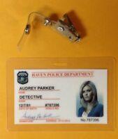 Haven TV Series ID Badge -Audrey Parker cosplay prop costume