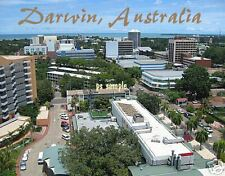 Australia - DARWIN - Travel Souvenir Flexible Fridge Magnet