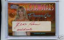 2008 AMERICANA CINEMA STARS AUTO GOLDIE HAWN 27/40