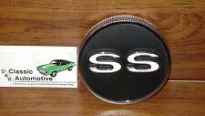 SS Fuel Cap 67-68 Camaro Super Sport GM Licensed emblem gas tank rear logo